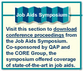 Job Aids Symposium link